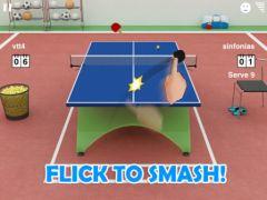 free iPhone app Virtual Table Tennis 3 HD