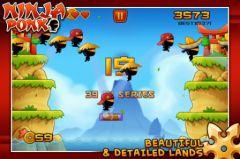 free iPhone app Ninja Ponk