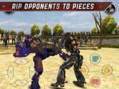 free iPhone app Real Steel
