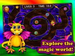 free iPhone app Dragon Maze