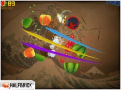free iPhone app Fruit Ninja