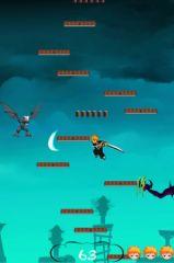 free iPhone app Bleach Jump
