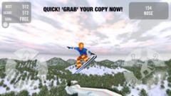 free iPhone app Crazy Snowboard