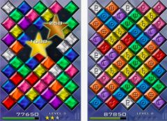 free iPhone app Falling Gems