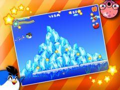free iPhone app Bouncy Penguin HD