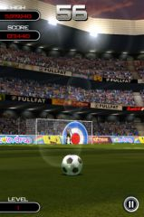free iPhone app Flick Soccer!