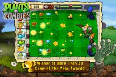 free iPhone app Plantes contre Zombies