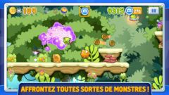free iPhone app Monstres & Cie RUN