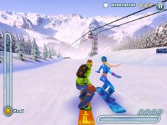 free iPhone app Snowboard Hero