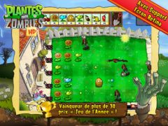 free iPhone app Plantes contre Zombies HD