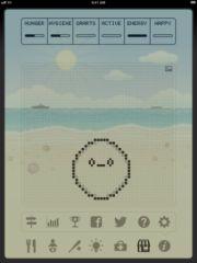 free iPhone app Hatchi - A retro virtual pet