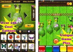 free iPhone app Simon Snail Racing