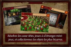 free iPhone app Forgotten Places - Lost Circus HD