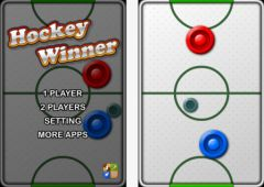 free iPhone app Hockey Winner