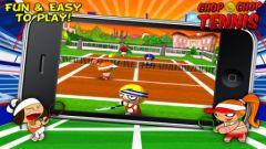 free iPhone app Chop Chop Tennis