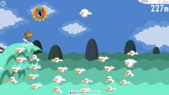 free iPhone app Robo Surf