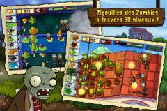 free iPhone app Plantes contre Zombies