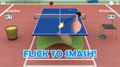 free iPhone app Virtual Table Tennis 3