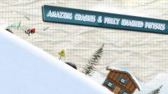 free iPhone app Stickman Ski Racer
