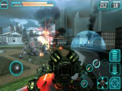 free iPhone app Mech Pilot