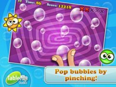 free iPhone app Bubble Pinch