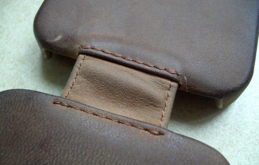 test avis et photos de la housse cuir pour iphone 5 de. Black Bedroom Furniture Sets. Home Design Ideas