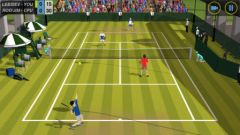 free iPhone app Flick Tennis