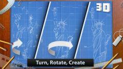 free iPhone app Blueprint 3D