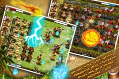 free iPhone app Castle Attack1