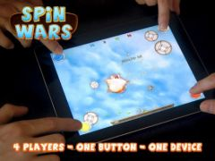 free iPhone app SPiN WARS