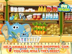 free iPhone app Dr Panda : Supermarché