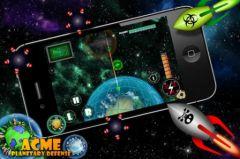 free iPhone app Acme Planetary Defense