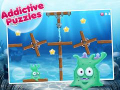 free iPhone app Alien Fishtank Frenzy