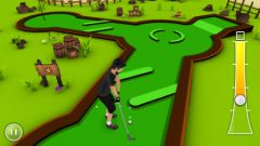free iPhone app Mini Golf Game 3D
