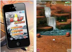 free iPhone app Flick Golf Extreme!