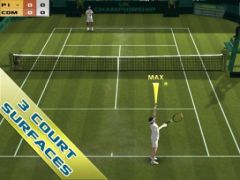 free iPhone app Cross Court Tennis