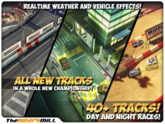 free iPhone app Mini Motor Racing