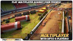 free iPhone app Mini Motor Racing