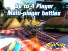 free iPhone app Table Top Racing
