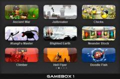 free iPhone app GAMEBOX 1