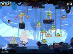free iPhone app Angry Birds Star Wars HD