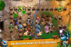 free iPhone app Goblin Defenders: Steel