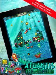 free iPhone app Atlantis Breaker HD