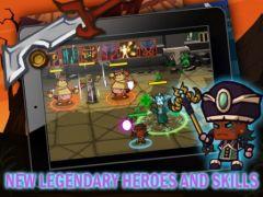 free iPhone app Heroes vs Monsters