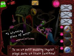 free iPhone app The Great Jitters: Pudding Panic HD