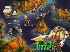 free iPhone app Pirate Legends TD