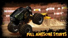 free iPhone app Monster Truck Destruction