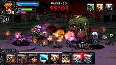 free iPhone app ARMY VS ZOMBIE