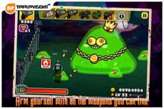 free iPhone app Monster Mayhem