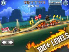 free iPhone app Bike Baron